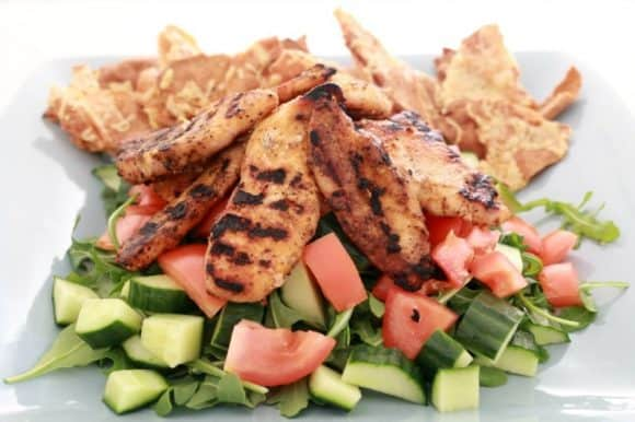Moroccan Chicken Salad