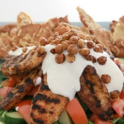Moroccan Chicken Salad - Bake Play Smile 6