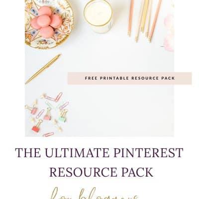 Blogger Pinterest Resources (free Pinterest eBook!)