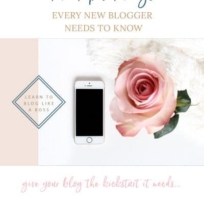 5 Things You Should Know When Starting A Blog