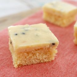 Passionfruit Slice | Old Fashioned Favourite