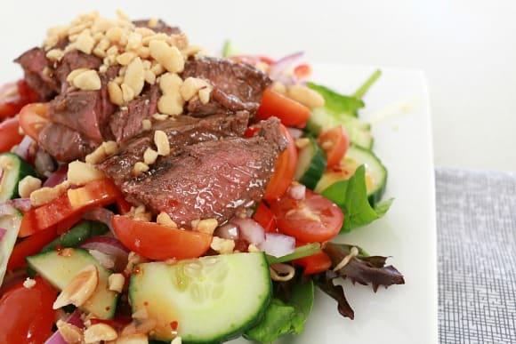 thai beef salad 7