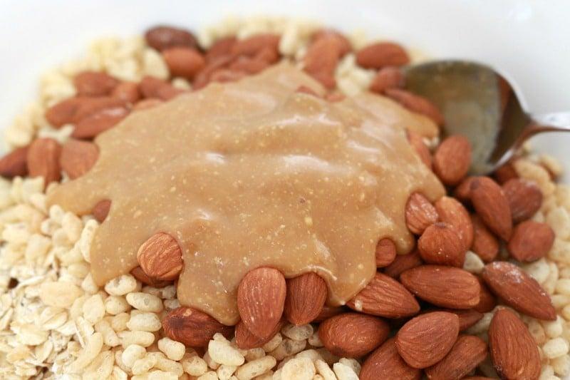 Honey Nut Muesli Bars
