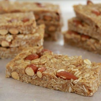 Honey Nut Muesli Bars