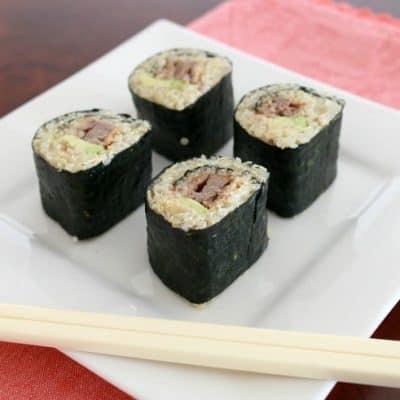 Quinoa Sushi – Fabulous Foodie Fridays #41