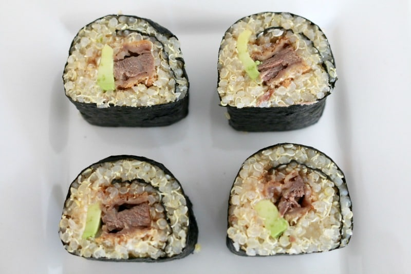 Quinoa Sushi - Fabulous Foodie Fridays #41 - Bake Play Smile