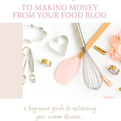How To Make Money From Your Food Blog
