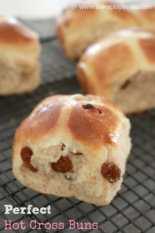 Delicious and classic... you can't beat a batch of traditional hot cross buns made with dried fruit. Easter is well and truly here!