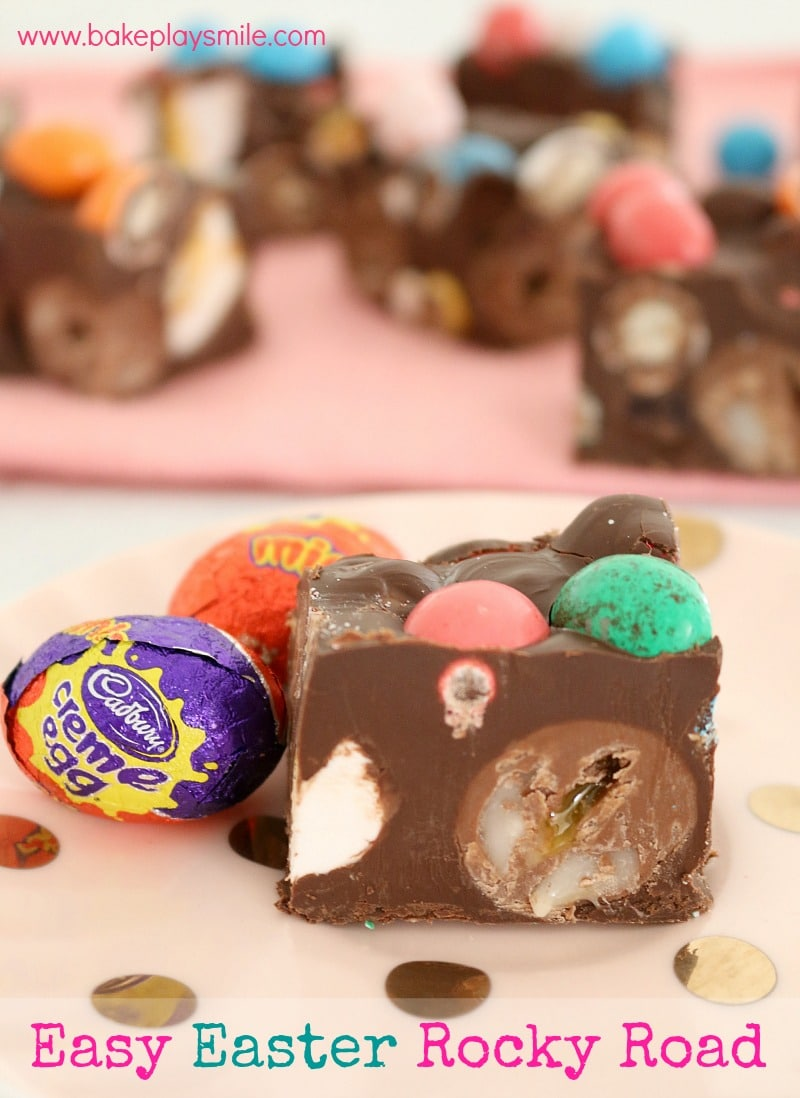 Easy Easter Rocky Road