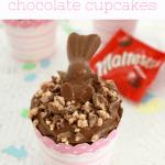 Malteser Bunny Chocolate Cupcakes Image
