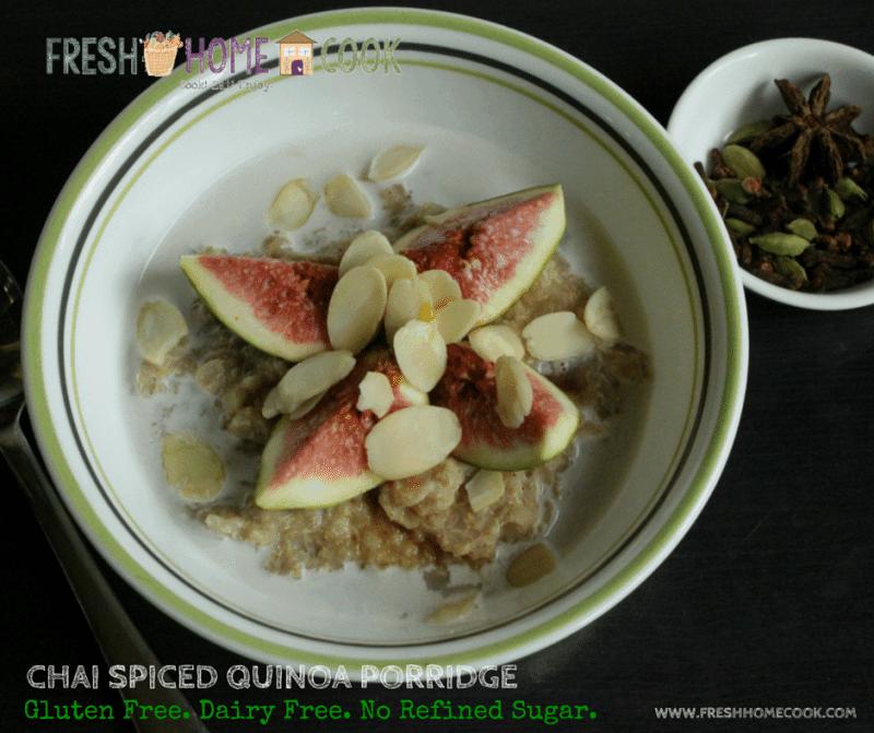 Chai Spiced Quinoa Porridge