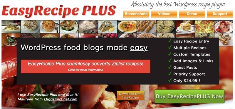 3 Must-Have Plugins For Your WordPress Food Blog
