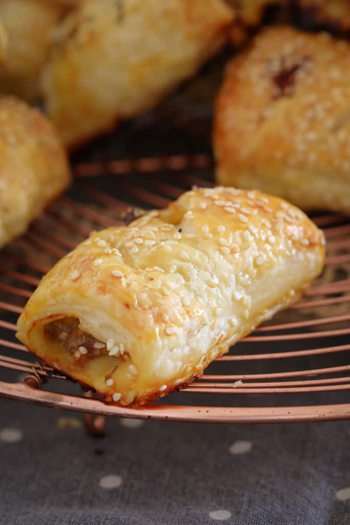 These super easy Homemade Sausage Rolls are such a family favourite! Freezer-friendly and quick to make - this is sure to become your go-to sausage roll recipe. Thermomix & conventional methods included!
