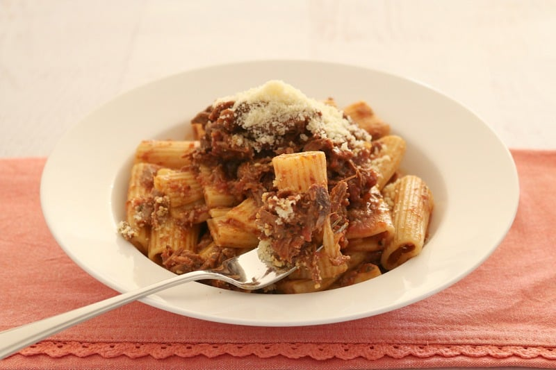 Slow Cooker Italian Beef Ragu