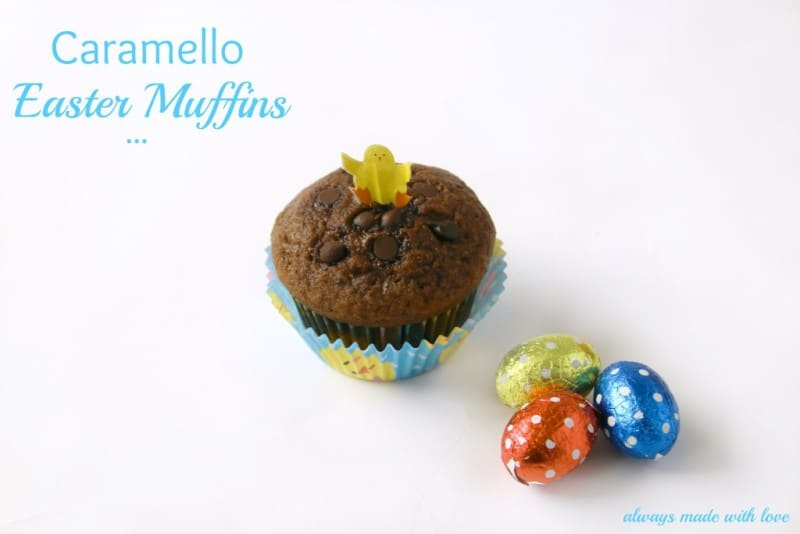 Caramello Easter Muffins