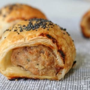 Chicken & Vegetable Sausage Rolls
