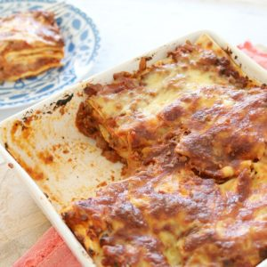Easy Beef Lasagne