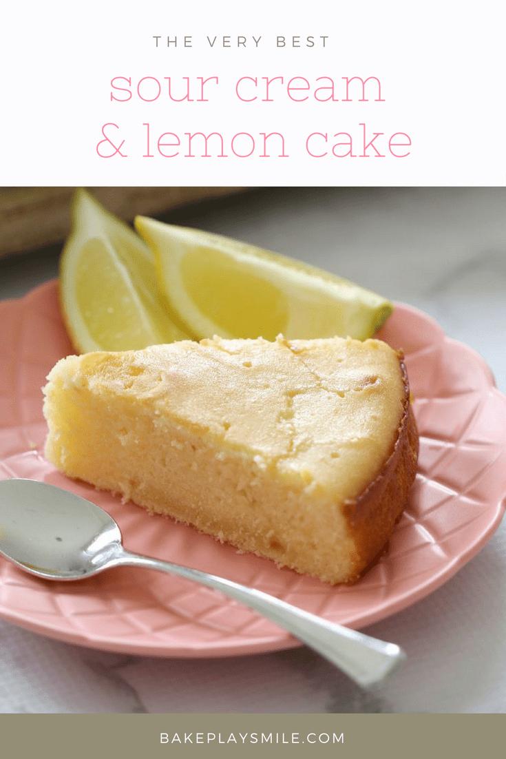 Sour Cream & Lemon Cake