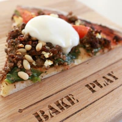 Greek Style Lamb Pizza | Family-Friendly Dinner