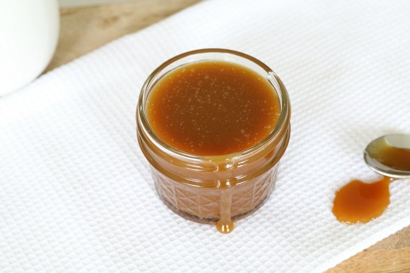 ... tsp salt (depending on how salty you like your caramel sauce
