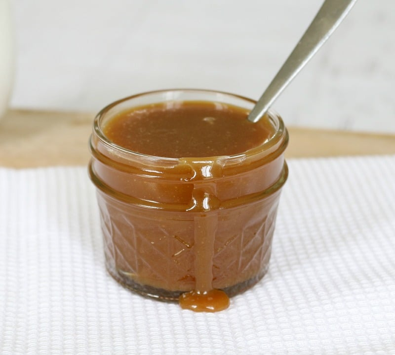 Store your salted caramel sauce in a sterilised jar for up to 2 weeks ...