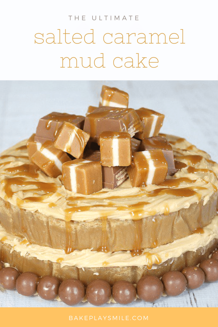 White Chocolate Honeycomb Mud Cake