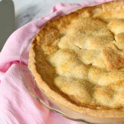 Easy Apple Pie (winter warmer recipe!)