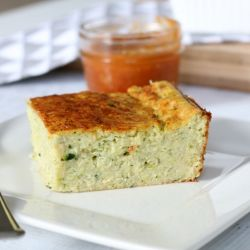 Quick & Easy Zucchini Slice (with bacon & cheese)