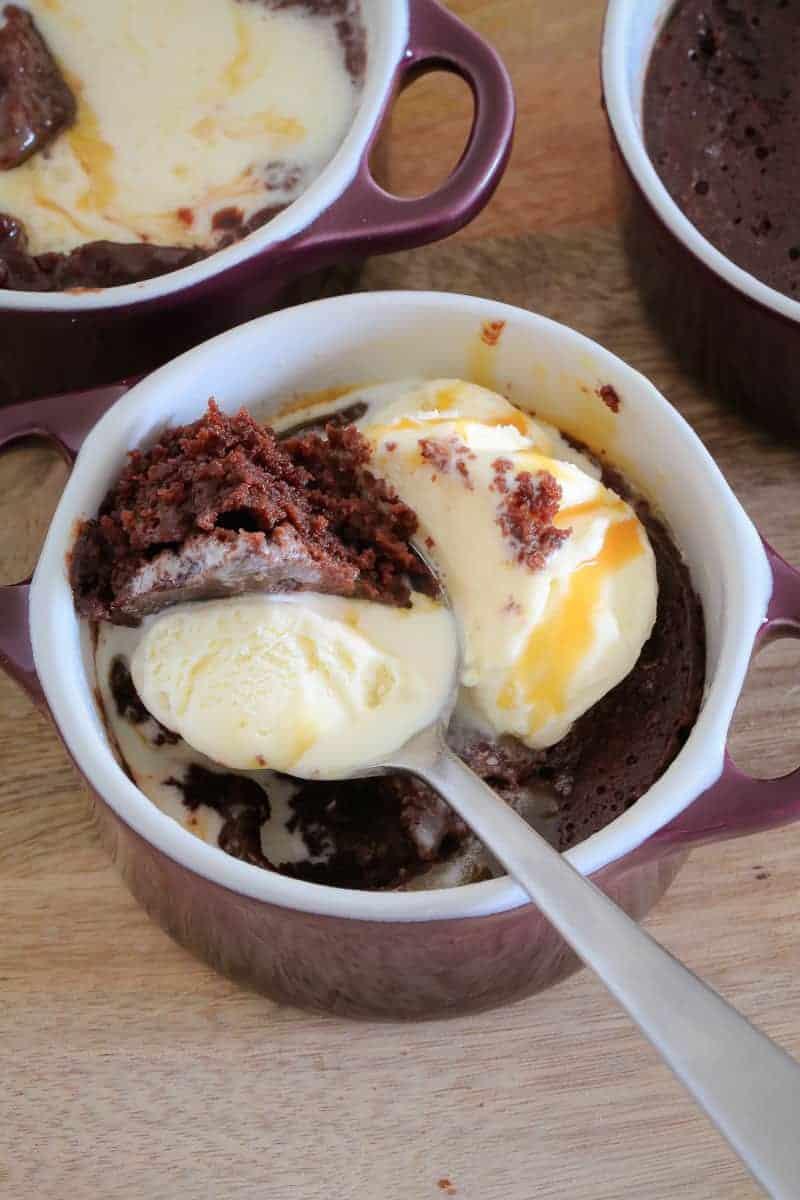 60 Second Microwave Chocolate Brownies Bake Play Smile