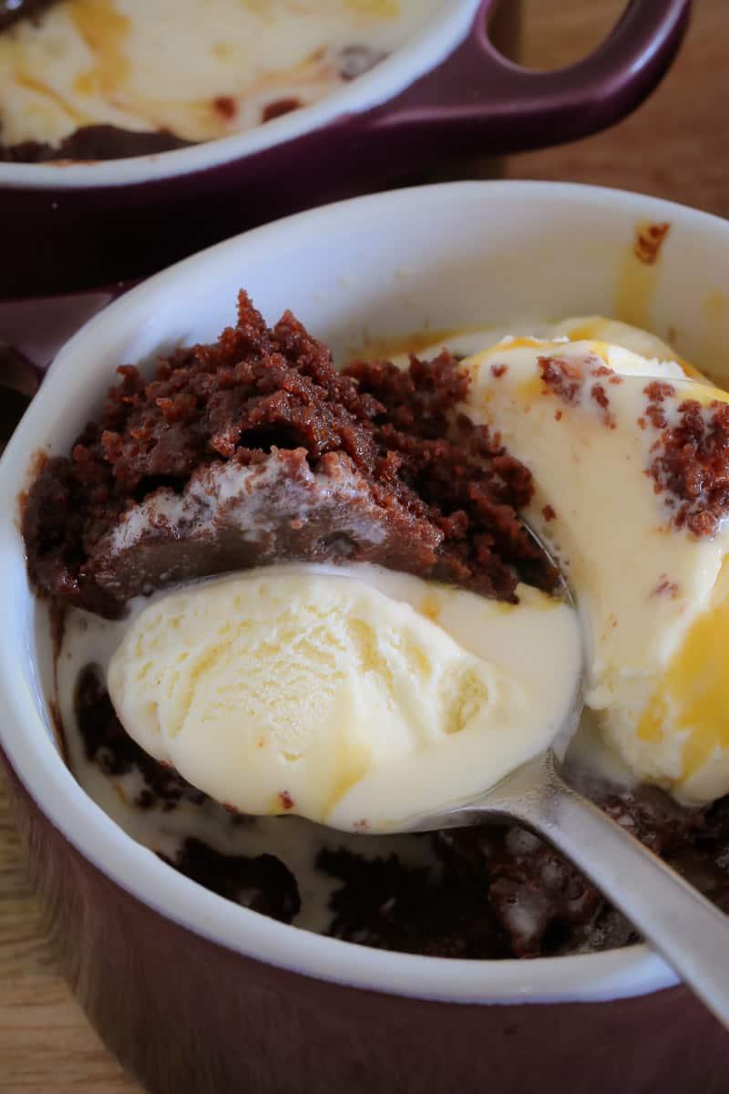 60 Second Microwave Chocolate Brownies