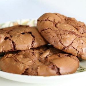 Peanut Chocolate Brownie Cookies
