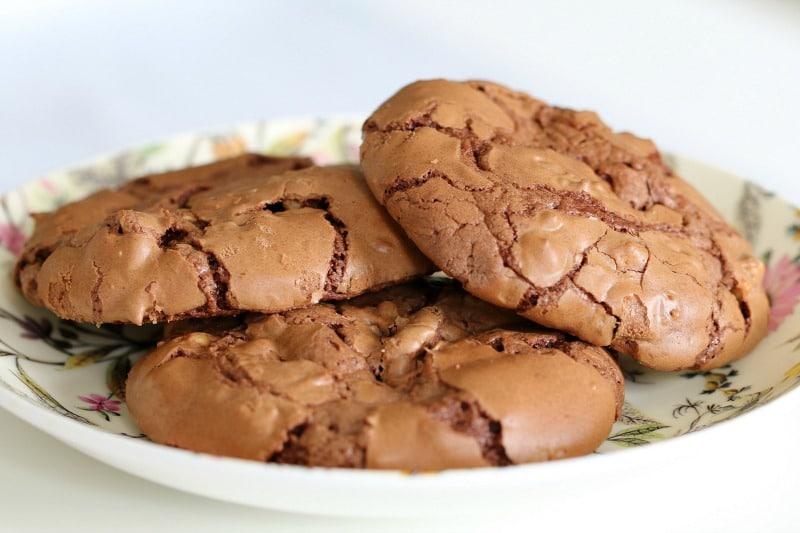 Peanut Chocolate Brownie Cookies