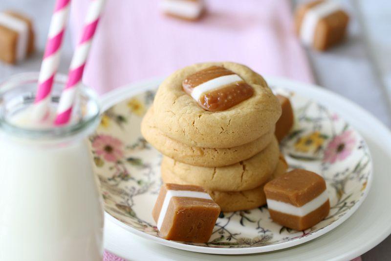 Jersey Caramel Cookies