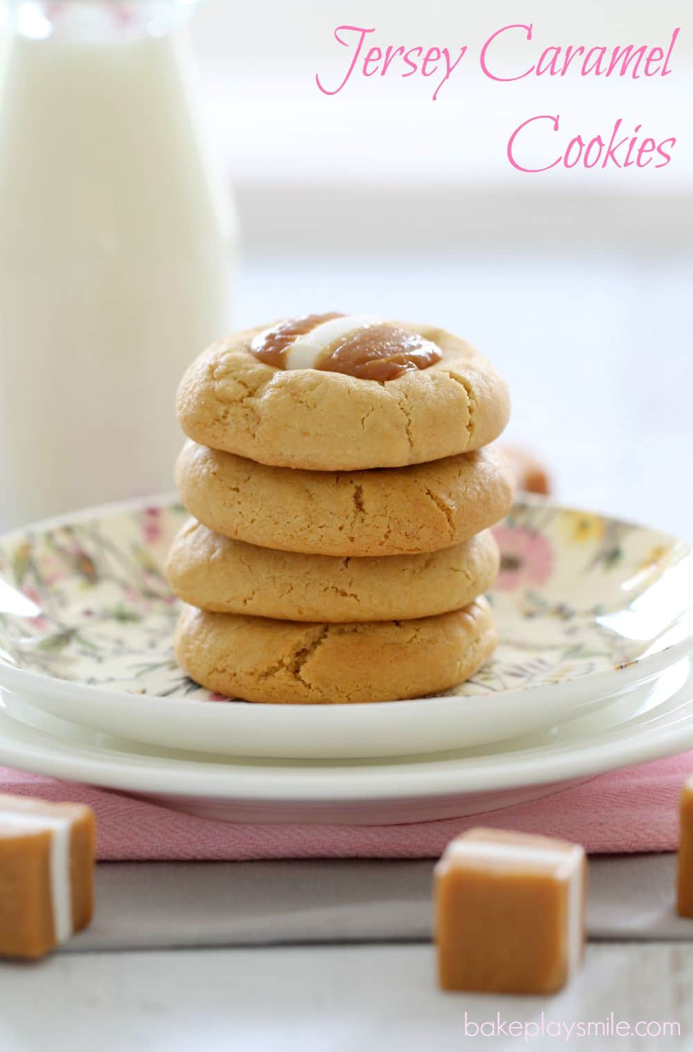 Donna Hay S Jersey Caramel Cookies Bake Play Smile