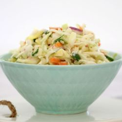 Simple Apple Coleslaw