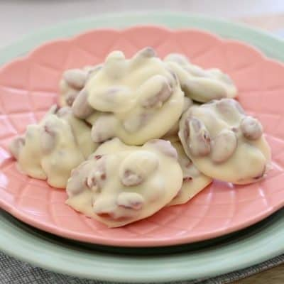 White Chocolate, Cranberry & Almond Clusters