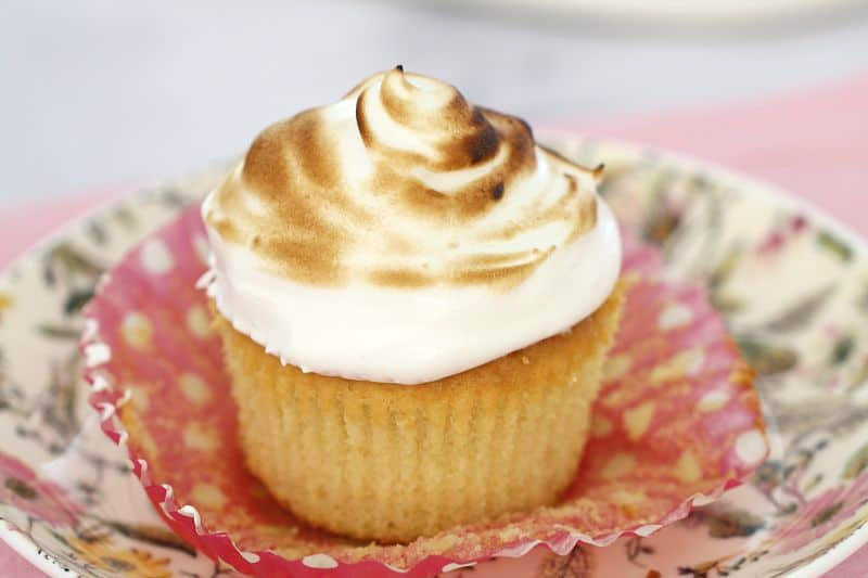 Lemon Meringue Cupcakes