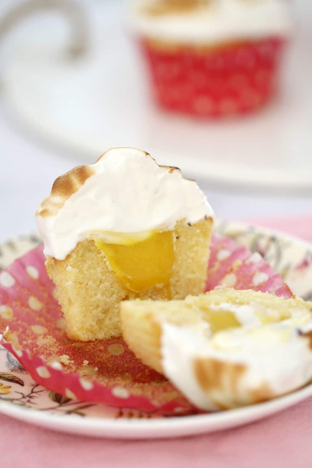 Lemon Meringue Cupcakes - Bake Play Smile