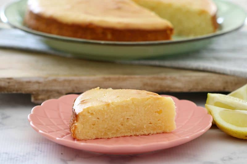 Easy Sour Cream & Lemon Cake - Bake Play Smile