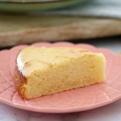 Easy Sour Cream & Lemon Cake