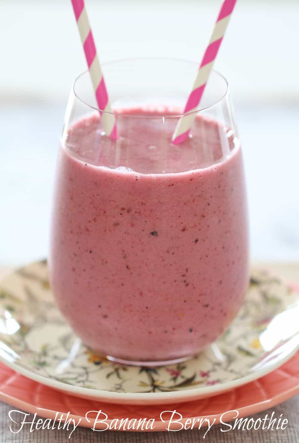 Healthy Banana Berry Smoothie