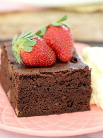 Melt & Mix Triple Chocolate Brownies