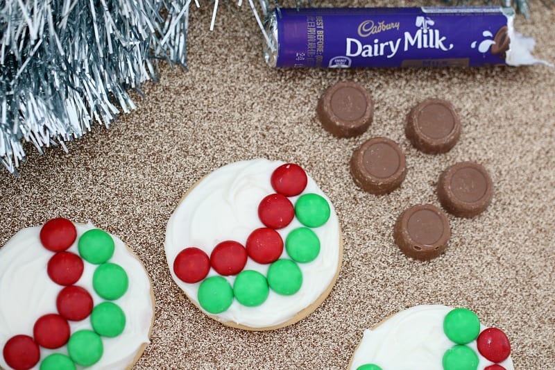 5 Minute Christmas Bauble Cookies