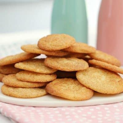Snickerdoodles | Cinnamon & Vanilla Cookies