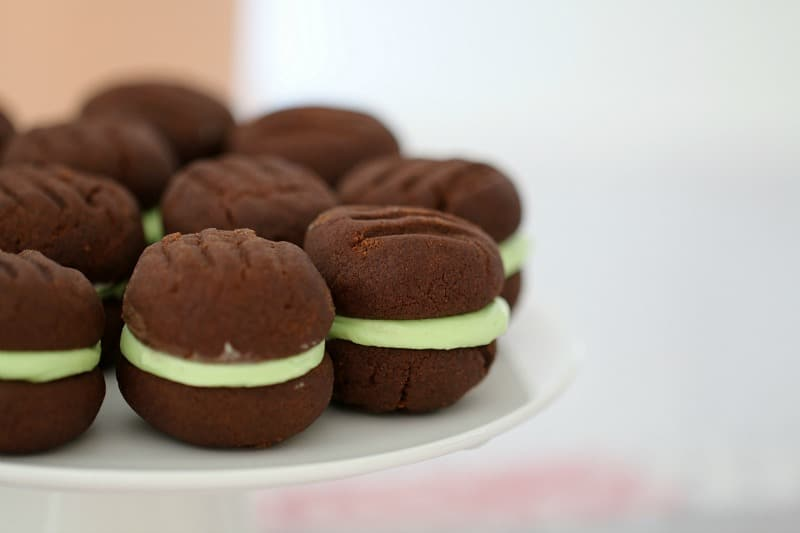 Chocolate Mint Biscuits