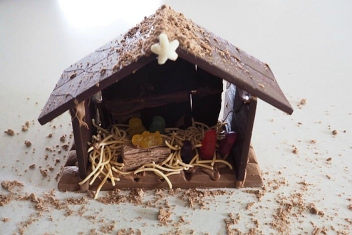 Chocolate Nativity Scene