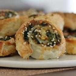 Spinach & Feta Pinwheels