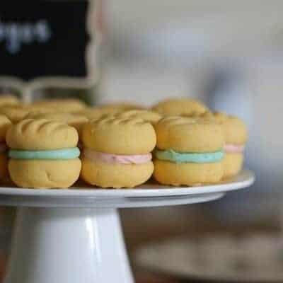 Baby Shower Cookies – Pink & Blue Yo-Yos