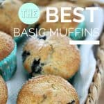 Best Basic Muffin Recipe