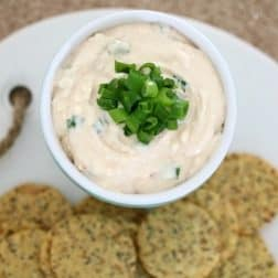 Sweet Chilli, Spring Onion & Cream Cheese Dip